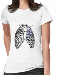 Ribs 3 Womens Fitted T-Shirt
