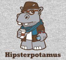 Hipsterpotamus Baby Tee