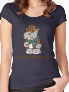 Hipsterpotamus Women's Fitted Scoop T-Shirt