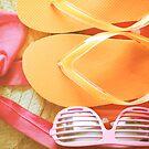 ...summer colors........ by Jane Anastasia Studio