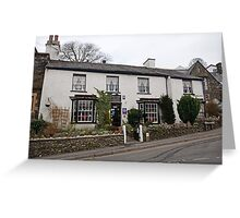 Laurel Cottage Bed & Breakfast in Bowness On Windermere Greeting Card