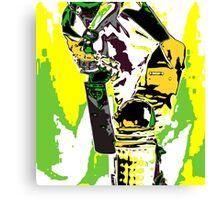 Cricketer Canvas Print