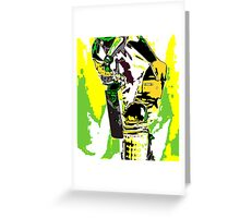 Cricketer Greeting Card