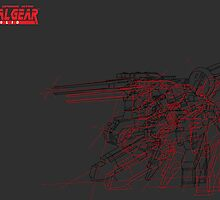 metal gear sold ray  by Zhunter20