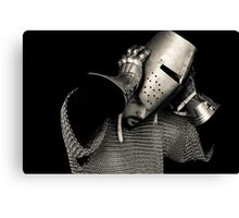 Medieval Knight #10 Canvas Print