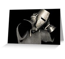 Medieval Knight #10 Greeting Card