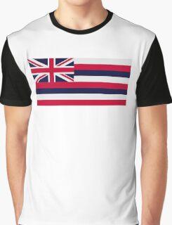 Hawaii flag Graphic T-Shirt