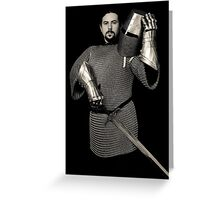 Medieval Knight #11 Greeting Card