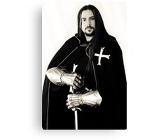 Medieval Knight #12 Canvas Print
