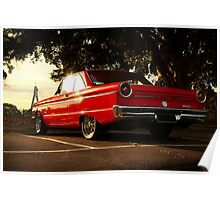 Ford XP Falcon Poster