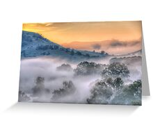 Play Misty For Me - Jingelic NSW/Walwa Victoria - Upper Murray - The HDR Experience Greeting Card