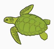 Green Turtle Kids Clothes