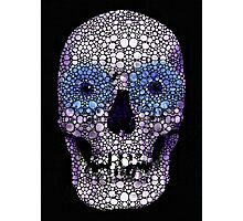 Skull Art - Day Of The Dead 2 Stone Rock'd Photographic Print