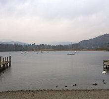 Lake Windermere England by Keith Larby