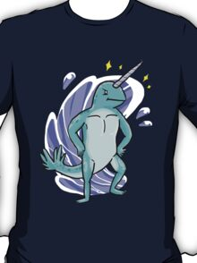 Majestic Narwhal  T-Shirt