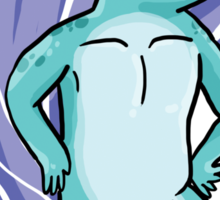 Majestic Narwhal  Sticker
