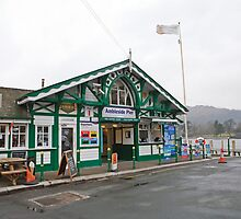 Ambleside pier Lake District by Keith Larby