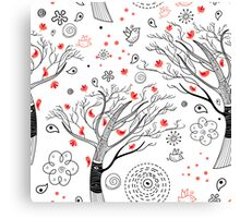 beautiful trees Canvas Print