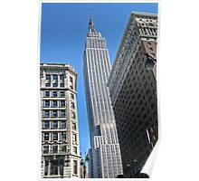 The Empire State building in New York Poster