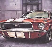 Mustang by Sharon Poulton