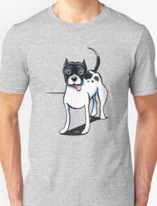 Black & White Pitbull Unisex T-Shirt