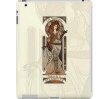 Steampunk Nouveau 2- Cream iPad Case/Skin