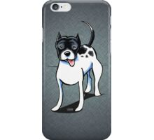 Black & White Pitbull iPhone Case/Skin