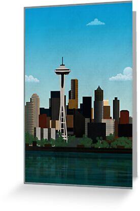 Seattle by Wyattdesign