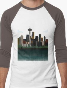 Seattle Men's Baseball ¾ T-Shirt