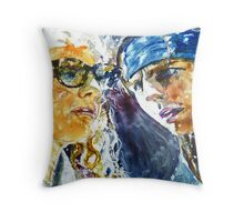 At the Movies Rock of Ages Throw Pillow