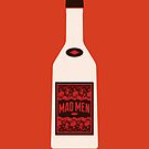 Mad Men bottle by Marco Recuero