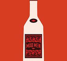 Mad Men bottle by Marco Recuero