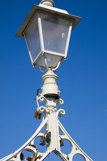 Ha'penny Bridge Lamp, Dublin by Esther Ní Dhonnacha