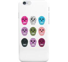 Sugar Pattern Skulls iPhone Case/Skin