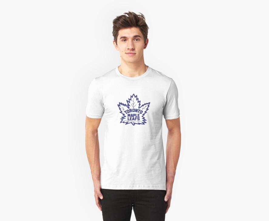 Toronto Maple Leafs Retro Logo by cnaccarato