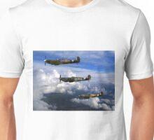 Spitfire formation in flight Unisex T-Shirt