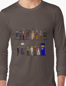 The Doctors and the Companions Long Sleeve T-Shirt