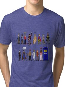 The Doctors and the Companions Tri-blend T-Shirt