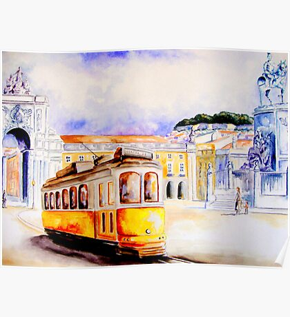 Lisbon... Poster