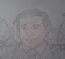 Steve Carell by TypH