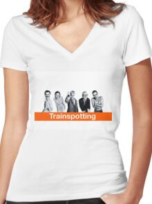 Trainspotting Women's Fitted V-Neck T-Shirt