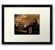 41 Plymouth Two-Door Framed Print