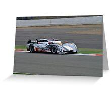 Audi Sport Team Joest No 1 Greeting Card