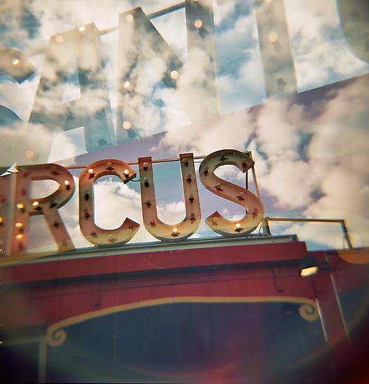 santas circus by PAUL FRANCIS