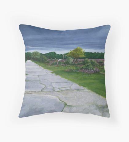 Beaulieu Airfield Throw Pillow