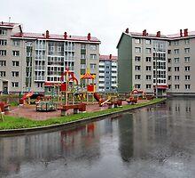 playground in the city by mrivserg