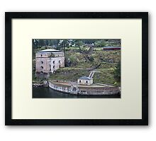 Maritime Fortress Framed Print