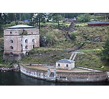 Maritime Fortress Photographic Print