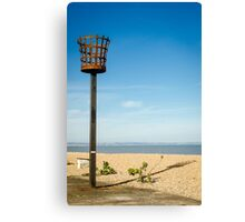 Fire Basket Canvas Print
