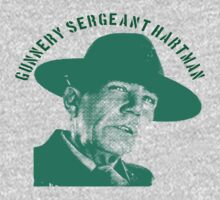 Gunnery Sergeant Hartman, feull metal jacket  by BUB THE ZOMBIE